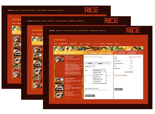 Rice E-Commerce Concept Design