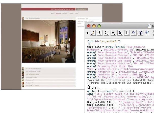 Decca PHP Programming