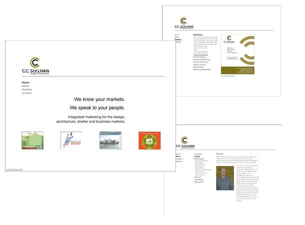 CCSullivan Flash Site Design/Programming