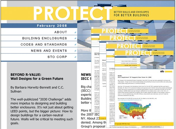 StoCorp Protect Site and eNewsletter Series