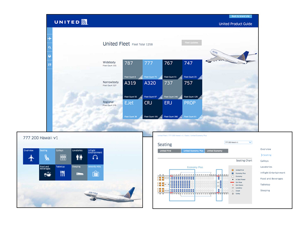United Airlines Product Guide - Drupal Site Development