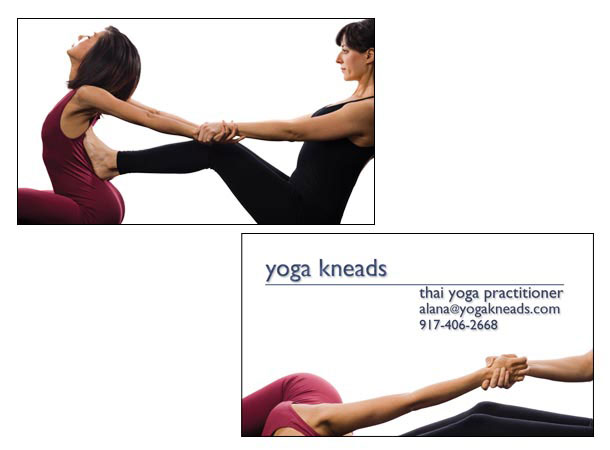 Marketing Material for Yoga Studio